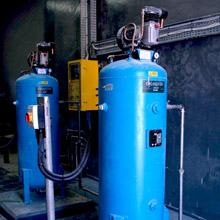 Control Panel and Compressor Assembly