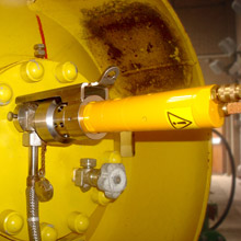 Drum Motor DM Clamp Drive Assembly